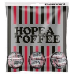 Malaco Hopeatoffee - Salmiac toffee 170g
