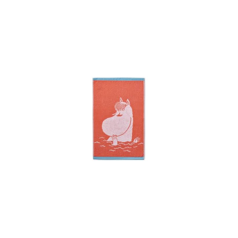 Finlayson Terry Towel Snorkmaiden orange 30x50 cm