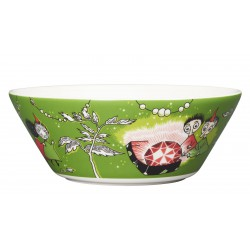 Moomin Bowl Thingumy and Bob and the King's Ruby Green 15cm