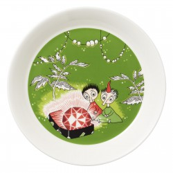 Moomin Plate Thingumy and Bob and the King's Ruby Green