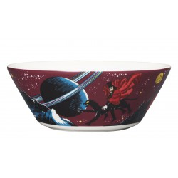 Moomin Bowl Hobgoblin Purple Arabia  15cm