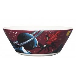 Moomin Bowl Hobgoblin Purple Arabia  15cm