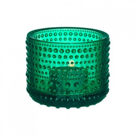 Iittala Kastehelmi Votive 64 mm emerald
