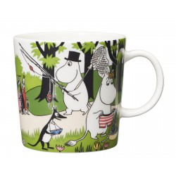 Moomin Mug Seasonal Mug Going on Vacation 0,3L