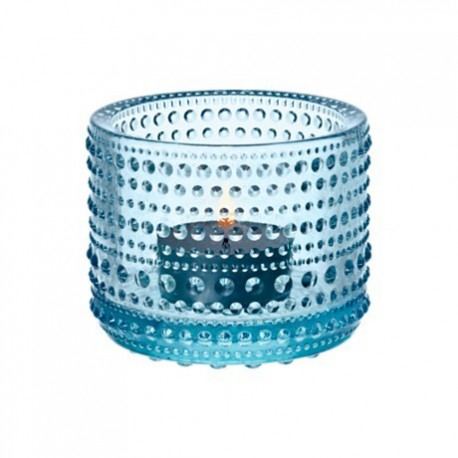 Iittala Kastehelmi Votive 64 mm light blue