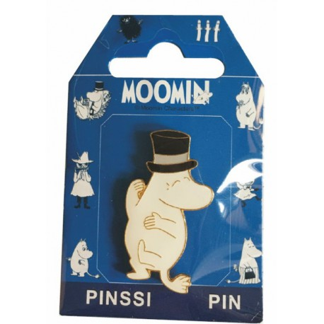 Moominpappa Pin with Finnish flag