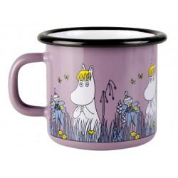 Moomin Friends Snorkmaiden Enamel Mug 2,5 dl