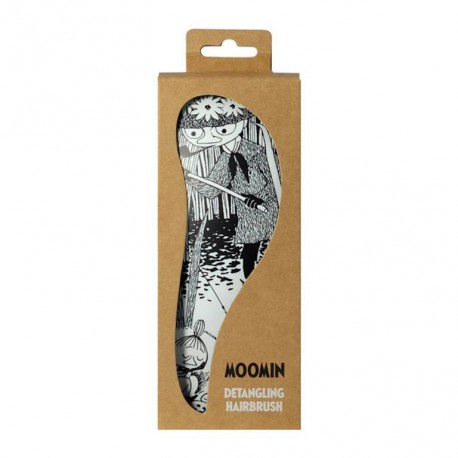 Moomin Detangling Brush Black