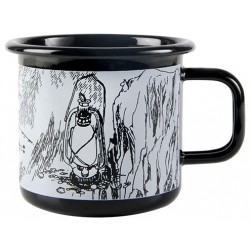 Muurla Makia enamel mug, Moomintroll 3,7 DL