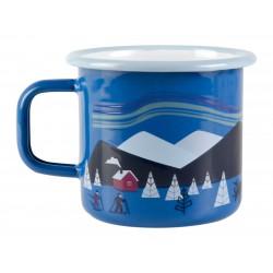 Muurla enamel mug, Lapland 3,7 DL