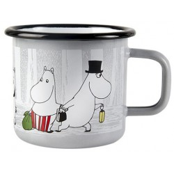 Moomin Winter Trip Enamel Mug 3,7 dl