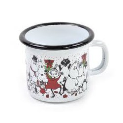 Muurla Moomin Enamel Mug Winter Magic / Talvi taikaa 2,5dl
