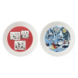 Moomin Collectors edition plates 2-pack 2018: Rose & Millenium