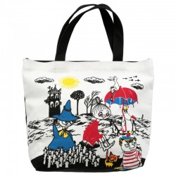Moomin Nana Canvas Bag 40 x 38 x 10 cm Martinex