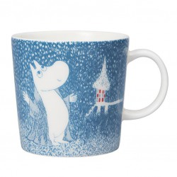 Moomin Winter mug 2018 Light Snowfall 0.3dl