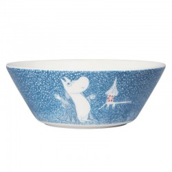Moomin Winter bowl 2018 Light Snowfall 15cm