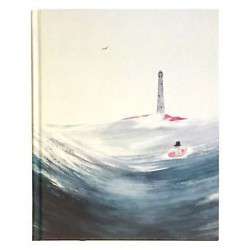 Moomin hard cover Notebook Moominpappa and the sea 20,5x16,5 cm