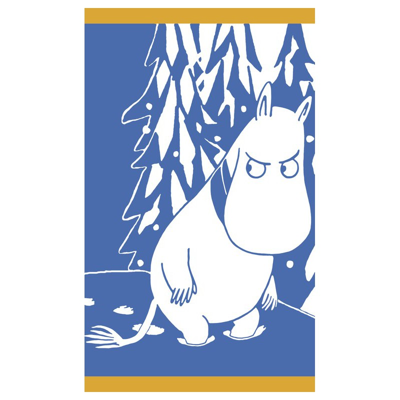 Finlayson Terry Towel Moomintroll and Snow 30x50 cm