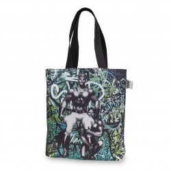 Tom Of Finland Backstreet Canvas Shopping bag 45x42 cm