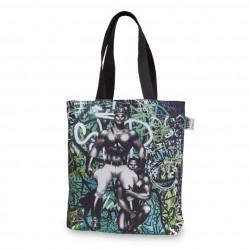 Tom Of Finland Backstreet Canvas Shopping bag 45x42 cm