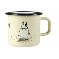 Moomin Enamel Mug Makia Adventures of Moominpappa Bath 3,7 dl