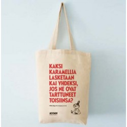 Moomin Canvas Little My shopping bag 37 x 42cm Putinki 100% organic cotton