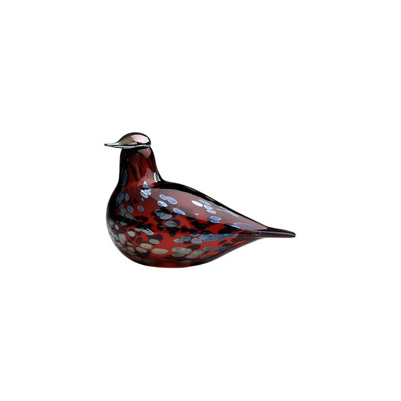 Iittala Birds by Toikka Ruby bird 210x130 mm cranberry