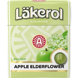 Läkerol Apple Elderflower pastilles 25g x 4