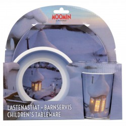 Moomin Children's Tableware blue Martinex