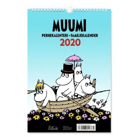 Moomin Family Calendar 2020 23x34 cm