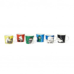 Moomin Collector's Moomin minimugs 2019 6pcs
