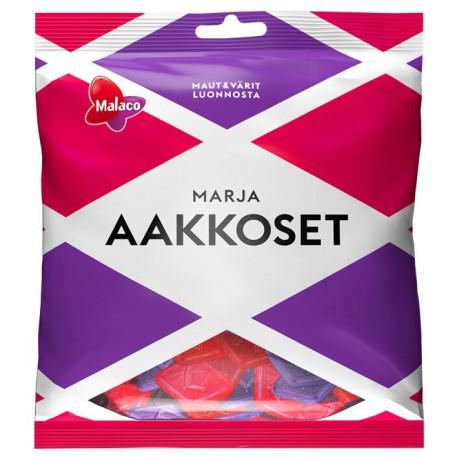 Malaco Aakkoset Berries - Assorted sweets 315g