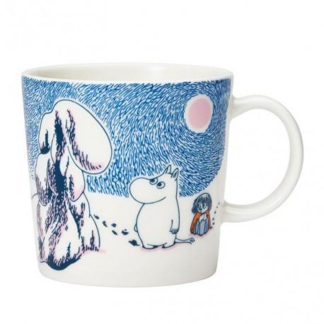 Moomin Winter mug 2019 Crown snow-load 0.3dl
