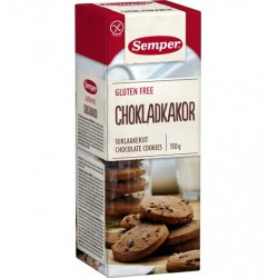 Semper Gluten-free Chocolate Cookies 150g SET OF SIX