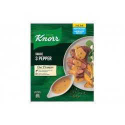 Knorr 3 Pepper sauce mix 3x28g