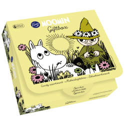Moomin 256 g gift box Yellow