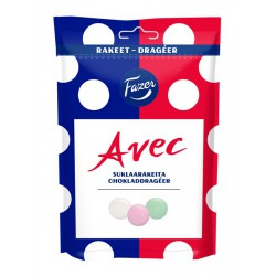 Avec chocolate dragees 165g