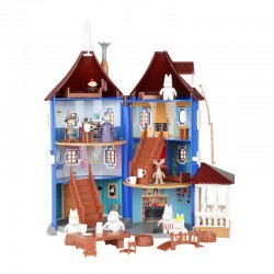 Moomin Plastic House and 9...