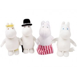 Moomin Stuffed Soft Figurine