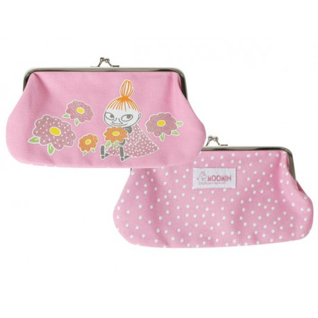 Moomin Little My Pink Pouch / Pencil Case