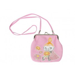 Moomin Little My  Pink Purse with Shoulder Strap