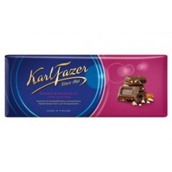 Karl Fazer Raisin & hazelnuts in milk chocolate 200 g