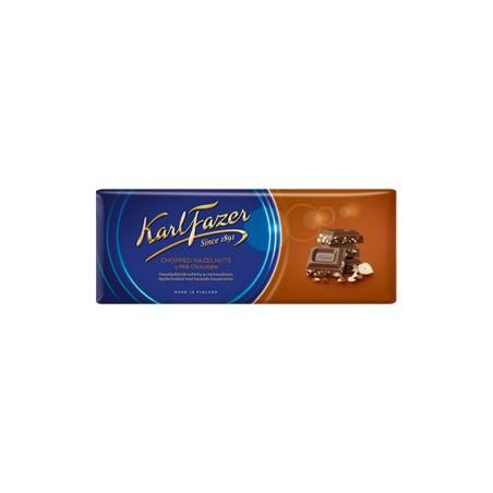 Karl Fazer Chopped Hazelnuts in milk chocolate 200 g