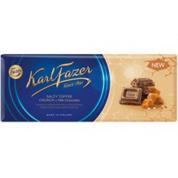 Karl Fazer Salty toffee crunch in Milk Chocolate 200 g