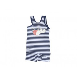 Moomin Swimsuit Dive Blue