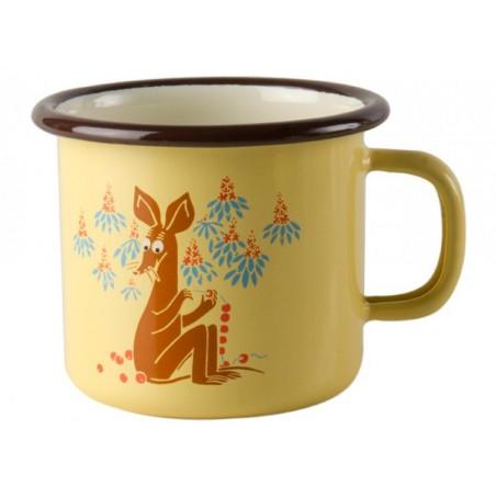 Moomin VINTAGE Sniff Enamel Mug 2,5 dl