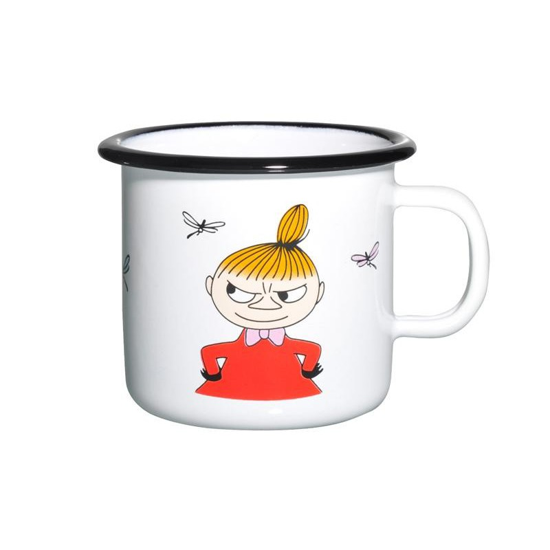 Moomin COLORS Little My Enamel Mug 2,5 dl