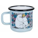 Moomin Lovebirds Enamel Mug 3,7 dl